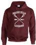 BEACON HILLS LACROSSE ON FRONT LAHEY ON BACK HOODIE - INSPIRED BY TEEN WOLF